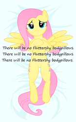 Size: 448x720 | Tagged: artist needed, body pillow, body pillow design, fluttershy, insane pony thread, safe, solo
