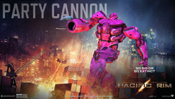 Size: 1920x1080 | Tagged: jaeger, pacific rim, pinkie pie, robot, safe