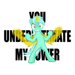 Size: 4096x4096 | Tagged: absurd res, arms, artist:slackerburst, bipedal, hand, lyra heartstrings, magic, magic hands, pony, safe, solo