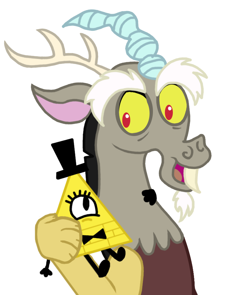 Bill Cipher And Discord
