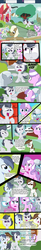 Size: 1280x7901 | Tagged: safe, artist:cosmonaut, diamond tiara, dinky hooves, featherweight, lickety split (g4), pipsqueak, rumble, shady daze, silver spoon, oc, oc:berry munch, lets ask rumble, bag, bullying, colt, comic, eating, feed bag, fence, filly, flying, male, oats and honey, ponyville schoolhouse, school, speech bubble