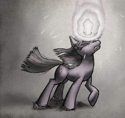 Size: 1280x1210 | Tagged: artist:chromaskunk, magic, safe, solo, struggling, twilight sparkle