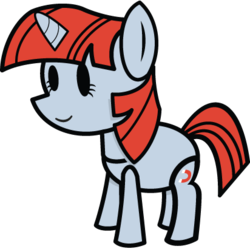 Size: 412x410 | Tagged: safe, artist:fineprint-mlp, magnet bolt, game mod, mpp64, my paper pony 64, paper mario, paper pony, solo, style emulation, tumblr
