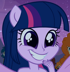 Size: 633x648   Tagged: safe, screencap, twilight sparkle, equestria girls, equestria girls (movie), adorkable, cute, dork, grin, ponied up, smiling, solo focus, spread wings, squee, wings