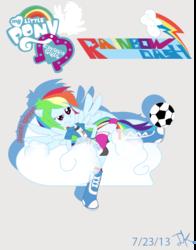 Size: 623x795   Tagged: safe, artist:applejackv3, rainbow dash, equestria girls, ponied up, solo