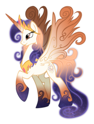 Size: 4392x5816 | Tagged: safe, artist:auveiss, oc, oc only, oc:queen galaxia, alicorn, pony, 's parents, absurd resolution, alicorn oc, celestia and luna's mother, mother, parent, queen, simple background, solo, transparent background, vector