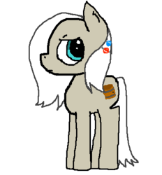 Size: 396x426 | Tagged: barrel, earth pony, my little hate blog, oc, oc only, ponified, pony, safe, solo