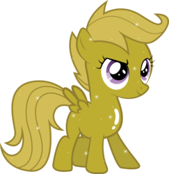 Size: 7283x7487 | Tagged: absurd res, artist:silentmatten, luster dust, luster dust-ified, safe, scootaloo, simple background, solo, transparent background, vector