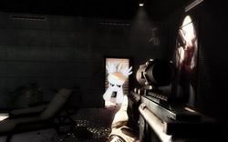 Size: 714x446   Tagged: safe, rainbow dash, battlefield 3, gun