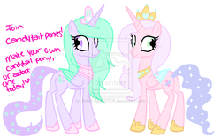 Size: 1024x639 | Tagged: alicorn, alicorn oc, artist:rave-m0nster, candytail, oc, oc only, original species, safe