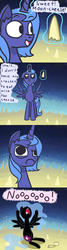Size: 1280x4800 | Tagged: safe, artist:talludde, nightmare moon, princess luna, ask the princess of night, cheese, comic, edible heavenly object, female, moon, nightmare luna, s1 luna, solo, tumblr, wallace and gromit