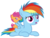 Size: 5760x4320 | Tagged: absurd res, artist:beavernator, baby, baby pony, baby scootaloo, cute, cutealoo, dashabetes, eating, filly, foal, nom, on back, pony, ponytail, prone, rainbow dash, safe, scootaloo, simple background, transparent background, vector, wat, younger