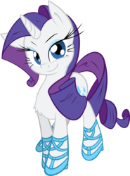 Size: 7410x10000 | Tagged: safe, artist:alexpony, artist:leadhooves, rarity, .psd available, absurd resolution, chest fluff, clothes, female, shoes, simple background, solo, transparent background, vector