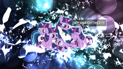 Size: 1920x1080 | Tagged: artist:clockwork65, artist:dm29, bubble, filly, filly twilight sparkle, safe, shining armor, twilight sparkle, vector, wallpaper