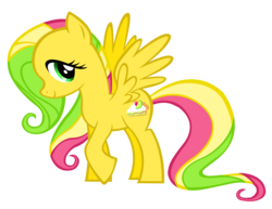 Size: 1644x1271   Tagged: safe, artist:durpy, kiwi tart, pegasus, pony, fusion, g3, g3 to g4, generation leap, recolor, simple background, solo, transparent background, vector
