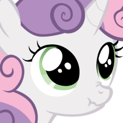 Size: 4000x4000 | Tagged: close-up, safe, scrunchy face, simple background, solo, sweetie belle, transparent background, vector