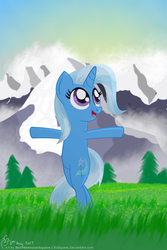 Size: 1000x1500 | Tagged: artist:bvsquare, bipedal, pony, safe, solo, the sound of music, trixie