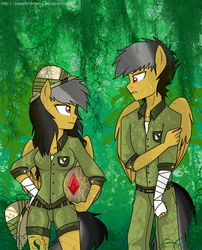 Size: 1430x1766 | Tagged: anthro, artist:jaquelindreamz, daring do, dashing do, rule 63, safe, self ponidox