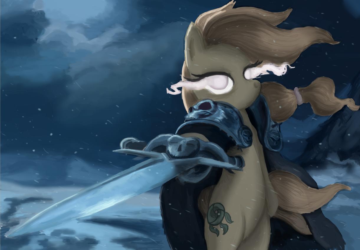 Pony Lich King by LegDeg on DeviantArt