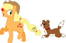 Size: 1577x1032 | Tagged: applejack, artist:awkwardly-handsome, ball, safe, winona
