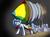 Size: 1255x935 | Tagged: safe, artist:10art1, oc, oc only, oc:google chrome, browser ponies, google chrome, internet browser, rocket, solo, tumblr, unshorn fetlocks