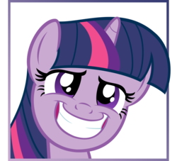 Size: 937x852 | Tagged: dead source, safe, twilight sparkle, pony, faic, female, frame, framed picture, solo