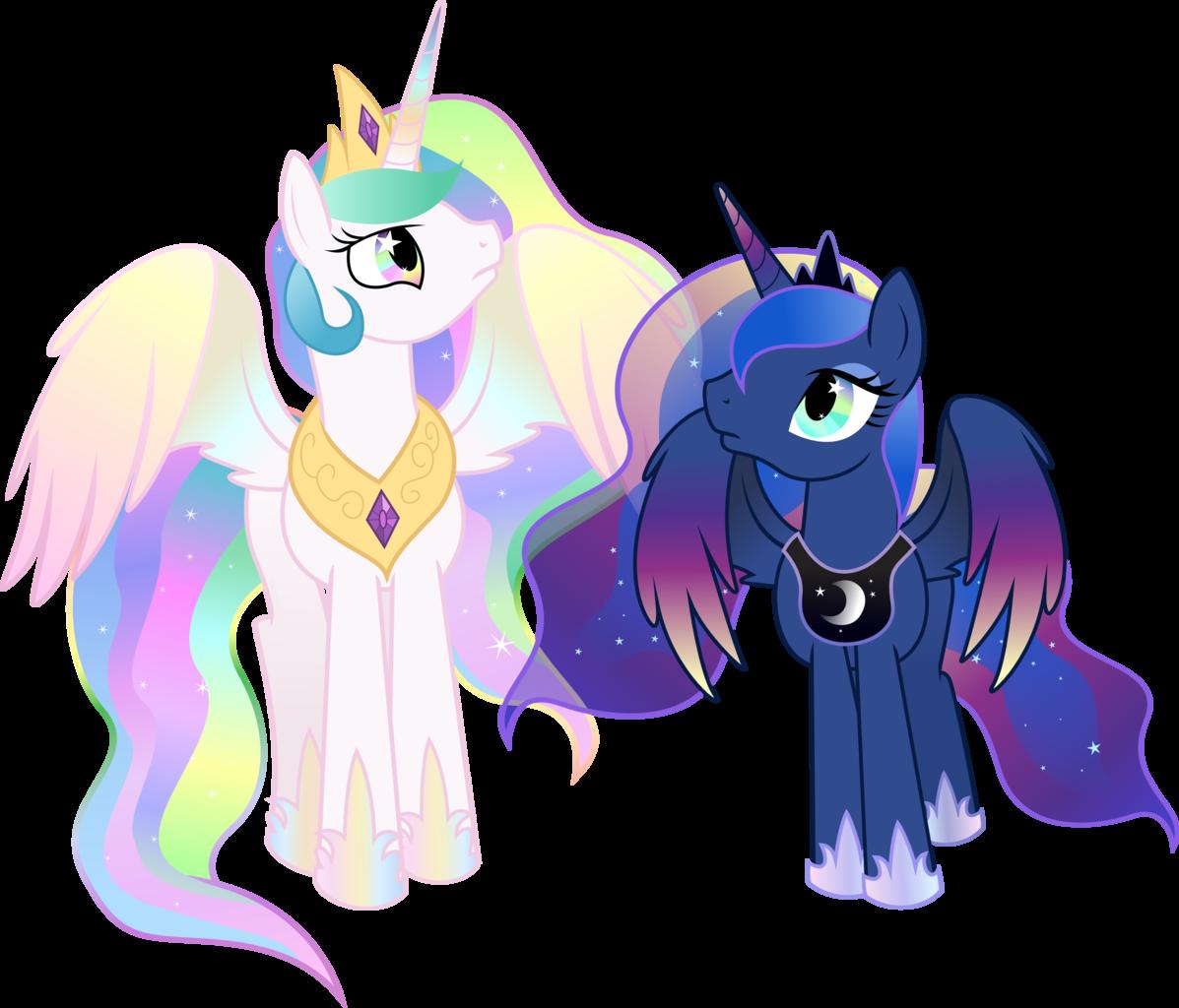 Картинки принцесс и пони