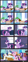 Size: 877x1960 | Tagged: safe, artist:dm29, princess cadance, shining armor, spike, twilight sparkle, alicorn, pony, bait and switch, comic, fake out, female, get your mind out of the gutter, implying, innuendo, laundry, mare, out of context, twilight sparkle (alicorn)
