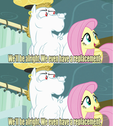 Size: 640x714 | Tagged: bulk biceps, fluttershy, meme, recursion, replacement meme, safe