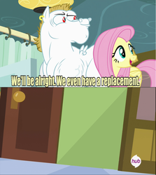 Size: 640x717 | Tagged: bulk biceps, exploitable, fluttershy, meme, rainbow falls, replacement meme, safe, template