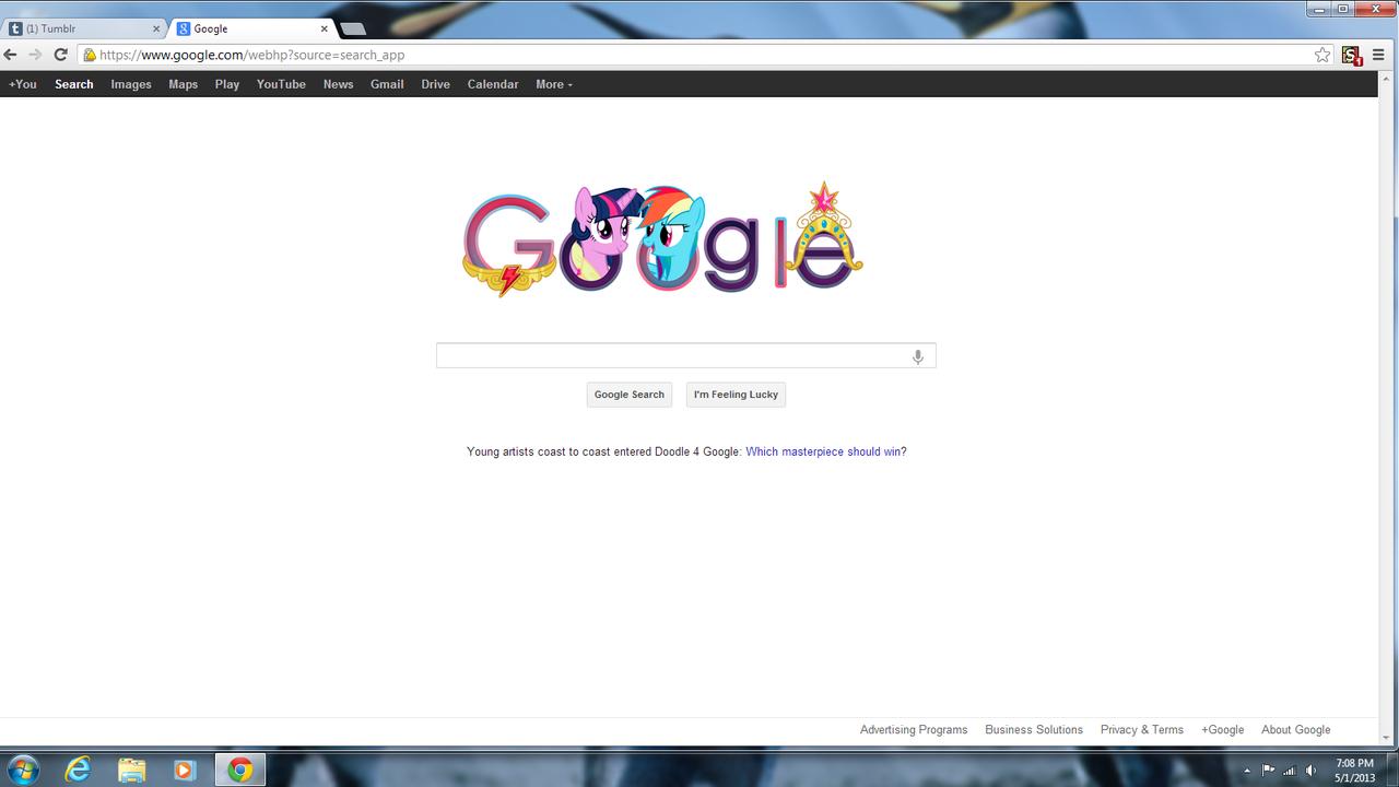 538290 - alicorn, female, google, google chrome, google doodle