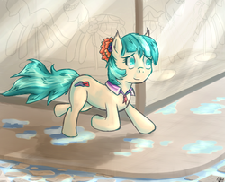 Size: 692x563 | Tagged: safe, artist:brony2you, coco pommel, rarity takes manehattan, solo