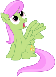 Size: 3458x4762 | Tagged: safe, artist:kooner-cz, merry may, pegasus, pony, absurd resolution, background pony, looking up, simple background, solo, surprised, transparent background, vector