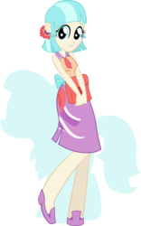 Size: 674x1080   Tagged: safe, artist:rariedash, coco pommel, equestria girls, equestria girls-ified, solo