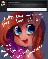 Size: 656x800 | Tagged: dead source, safe, artist:dhui, pinkie pie, female, solo, tired pie, tumblr