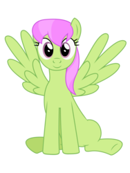 Size: 3000x4000 | Tagged: safe, artist:bluemeganium, merry may, absurd resolution, looking at you, simple background, sitting, solo, spread wings, transparent background, underhoof, vector