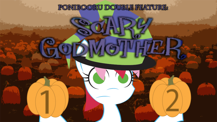 740362 artistdaisyhead oc ocflicker oc only ponibooru film night safe scary godmother halloween spooktacular scary godmother the revenge of