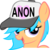 Size: 5000x4977 | Tagged: safe, oc, oc only, oc:little league, /mlp/, absurd resolution, bedroom eyes, filly