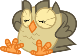 Size: 3481x2550 | Tagged: safe, artist:porygon2z, owlowiscious, simple background, solo, transparent background, vector