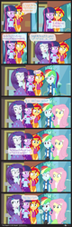 Size: 1062x3330 | Tagged: safe, artist:dm29, fluttershy, rainbow dash, rarity, sunset shimmer, twilight sparkle, equestria girls, comic, girl talk, innuendo, twilight sparkle (alicorn)