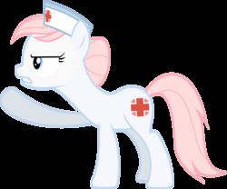 Size: 4000x3330 | Tagged: safe, artist:landmark520, nurse redheart, female, simple background, solo, transparent background, vector