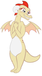 Size: 391x701 | Tagged: safe, artist:queencold, oc, oc only, dragon, dragon oc, dragoness, female, ginger, redhead, simple background, solo, teenaged dragon, transparent background