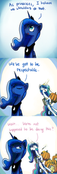 Size: 1000x3000 | Tagged: safe, artist:anticular, princess celestia, princess luna, alicorn, pony, ask sunshine and moonbeams, animated at source, animated in description, chair, comic, duo, duo female, eyes closed, female, halloween, holiday, jack-o-lantern, knife, levitation, magic, mare, moonbutt, open mouth, peytral, pumpkin, pumpkin carving, sitting, tongue out, tumblr