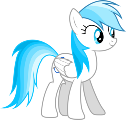 Size: 7935x7549   Tagged: safe, artist:dj-flaming-snowy-arc, artist:djdavid98, oc, oc only, oc:lesa castle, .ai available, .svg available, absurd resolution, not rainbow dash, recolor, simple background, solo, transparent background, vector