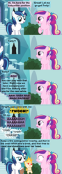 Size: 1120x3150 | Tagged: artist:beavernator, baby, babylight sparkle, baby pony, comic, deadpan snarker, fire, mane of fire, open mouth, oven mitt, oven mitts, pegasus cadance, pony, princess cadance, raised hoof, rapidash, rapidash twilight, safe, shining armor, tongs, twilight sparkle, younger