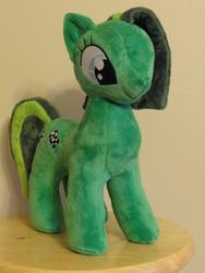 Size: 480x640   Tagged: safe, artist:whitedove-creations, oc, oc only, oc:jade aurora, earth pony, pony, irl, photo, plushie, solo