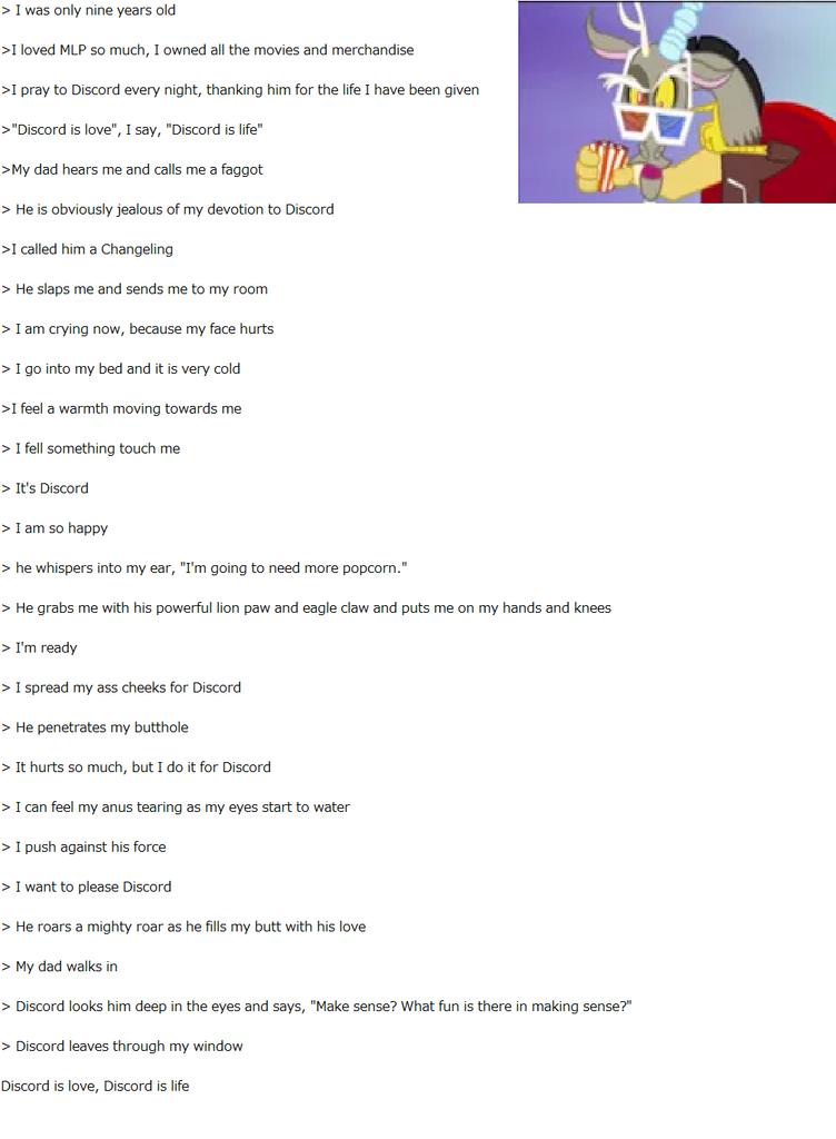 736248 Discord Explicit Greentext Mlp Popcorn Shrek Is Love Shrek Is Life Text Derpibooru
