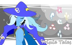 Size: 1200x750 | Tagged: safe, artist:ragurimo, trixie, pony, unicorn, cutie mark, female, mare, pixiv, solo