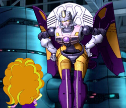Size: 546x470 | Tagged: adagio dazzle, chromia, crossover, edit, edited screencap, equestria girls, rainbow rocks, safe, screencap, thunderblast, transformers, transformers cybertron, transformers galaxy force