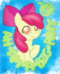 Size: 651x800 | Tagged: apple bloom, artist:eddieperkins, cute, safe, solo